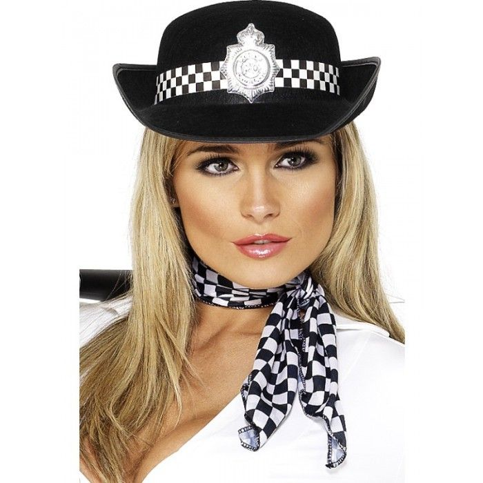 Let's Party With Balloons - Smiffy's Police Womans Hat, $9.00 (http://www.letspartywithballoons.com.au/smiffys-police-womans-hat/)