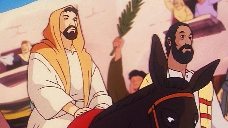 Iloinen ja mukaansa tempaava piirrossarja Jeesuksen elämästä. Maria sai…