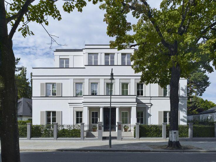 herberstra e berlin petra und paul kahlfeldt architekten klassische villa pinterest. Black Bedroom Furniture Sets. Home Design Ideas