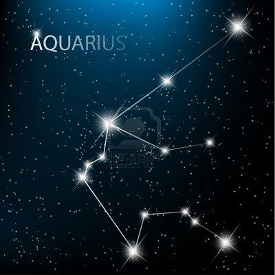 Aquarius- it is the 11th zodiac symbol. It meant different things to different races. To the Greeks the constellation represented a cup bearer to the gods. To the Egyptians it was the god of the Nile. Even the Babylonians made this the constellation of water.