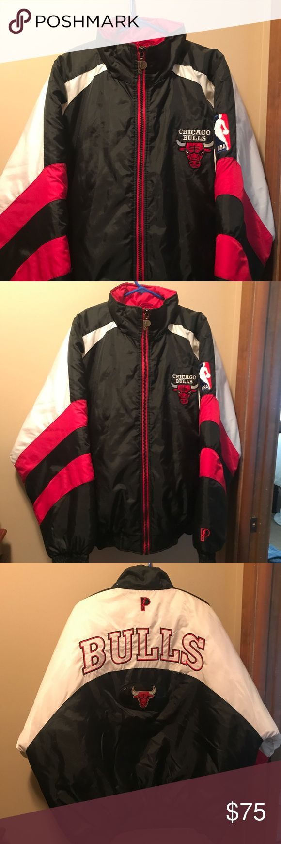Vtg 90's Chicago Bulls Puffer Coat Awesome men's puffer from the 90's, sporting everyone's favorite Bulls! Missing it's original hood, overall excellent condition minus a split seam (that I plan on fixing soon - will update listing when done). Vintage Jackets & Coats Puffers