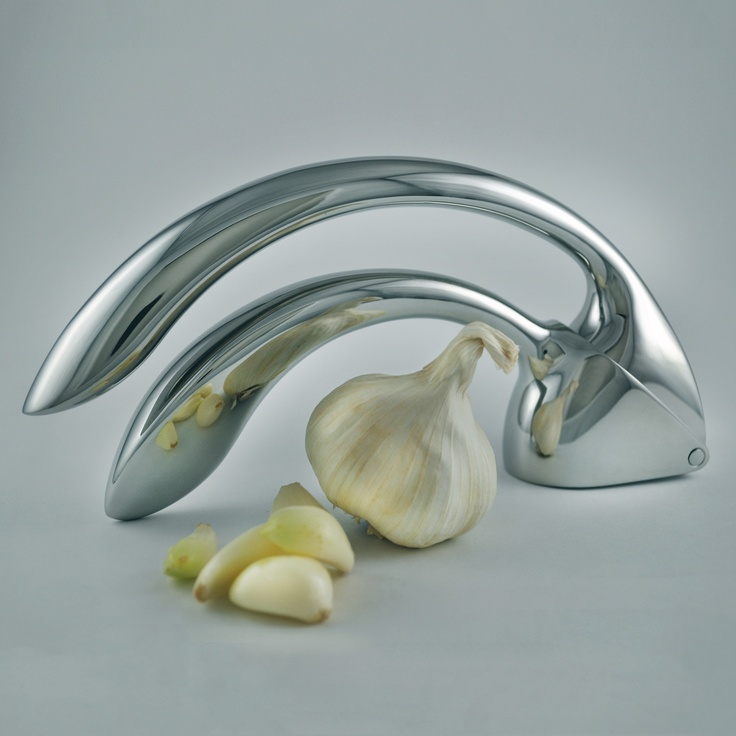#garlic #kitchen #design #silver #modern