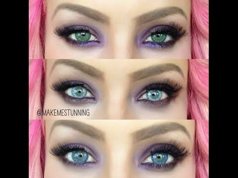 Desio Desert Dream And Icy Blue Contacts Review Youtube