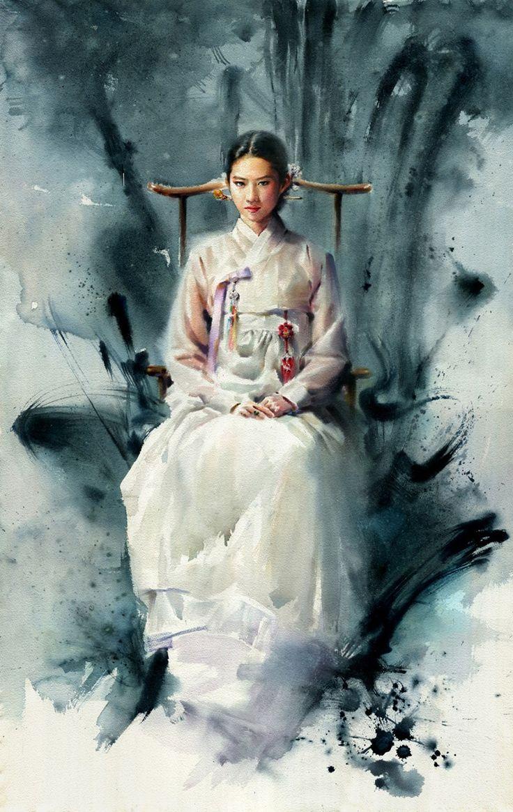 Renew watercolor artist magazine - Watercolor Portraits