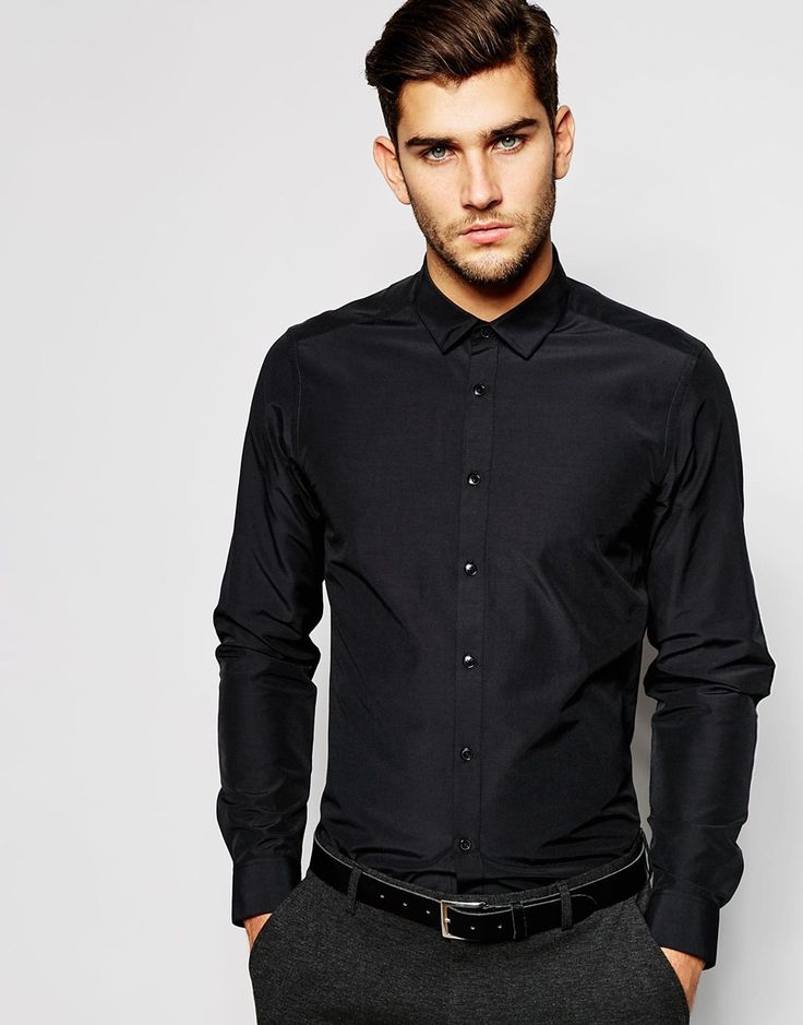 ASOS+Smart+Shirt+In+Long+Sleeve