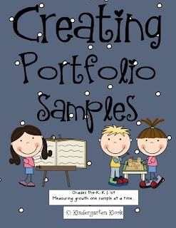 Kindergarten Kiosk: Creating a Portfolio (Memory Book): Measuring Growth One Sample at a Time