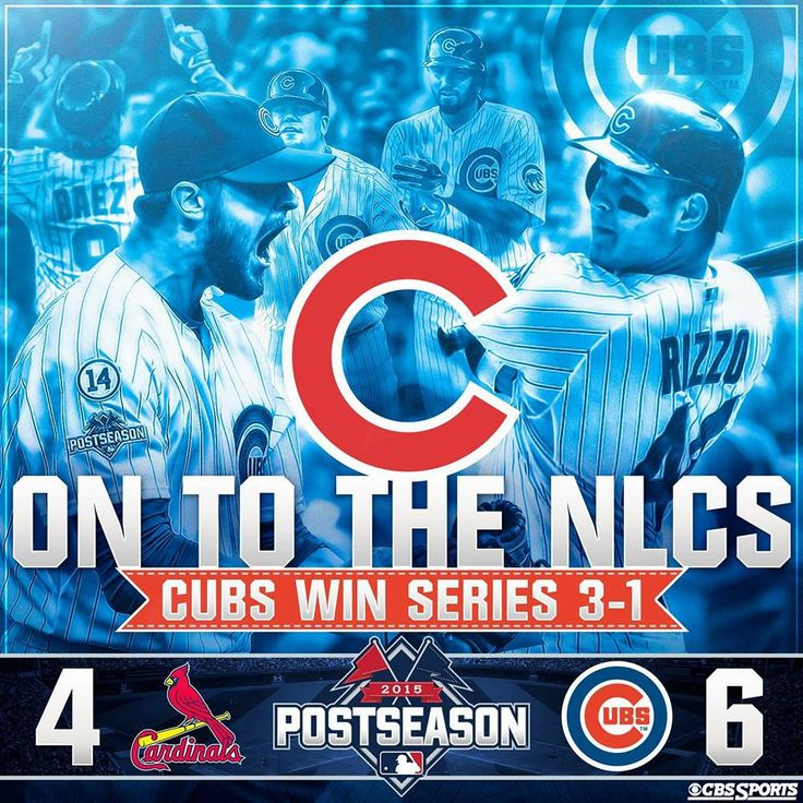 Cubs beat the first place Cardinals in Game 4 of the NLDS