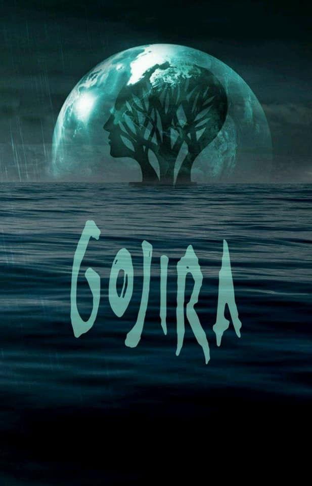 Gojira Wallpaper Rock Poster Art Heavy Metal Art Music Artwork