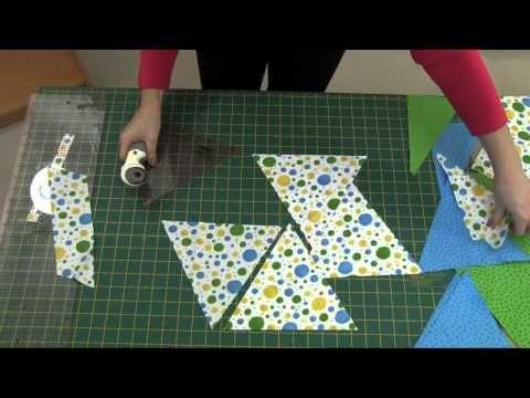 Sew Easy Triangle tool tutorial.