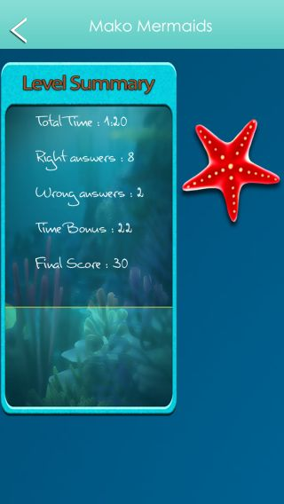 See my high score in the H2O Just Add Water Trivia Game! Mako Mermaids category  https://itunes.apple.com/us/app/trickytrivia/id878633529?mt=8