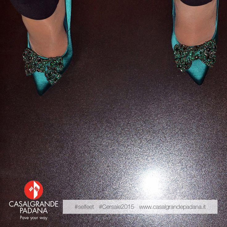 Let's take a #selfeet for #cersaie2015 with #casalgrandepadana :)