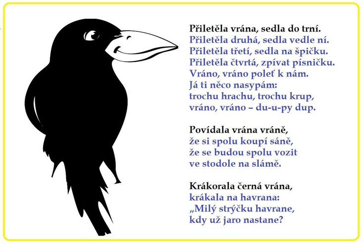 básničky vrány
