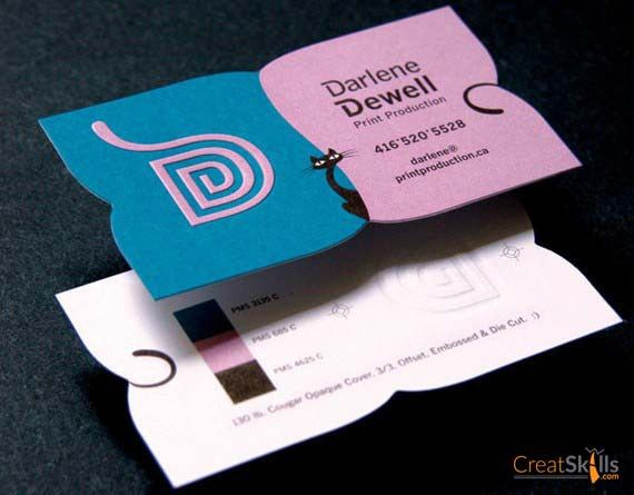 40 best business card inspirations images on pinterest business 50 fresh and creative business card designs 2012 edition photo reheart Image collections