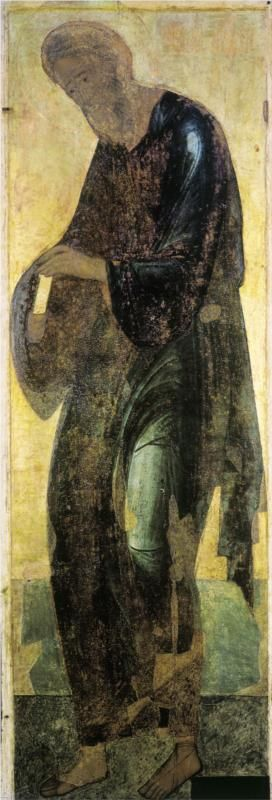Saint Andrew, 1408Andrei Rublev - by style - Byzantine