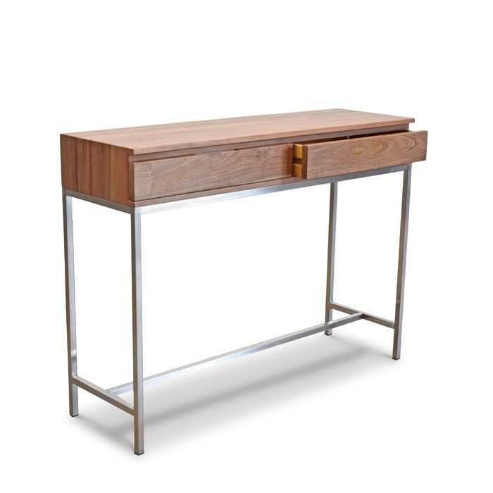 Rayna Console Table Dining Room Console Console Table Solid Walnut Table