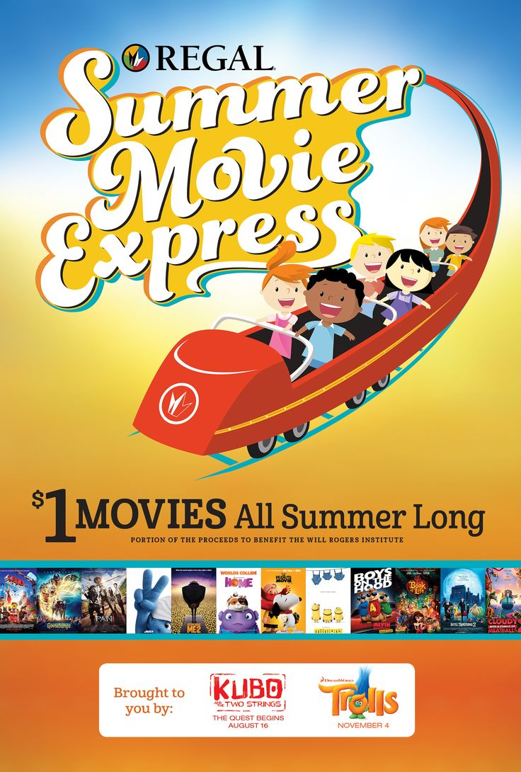 $1 Movies for 2016 Summer Movie Express! Check out the titles for this year's Summer Movie Express! Family movie night all summer long!