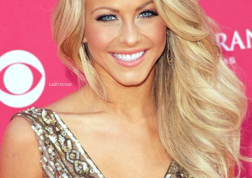 big blonde hair