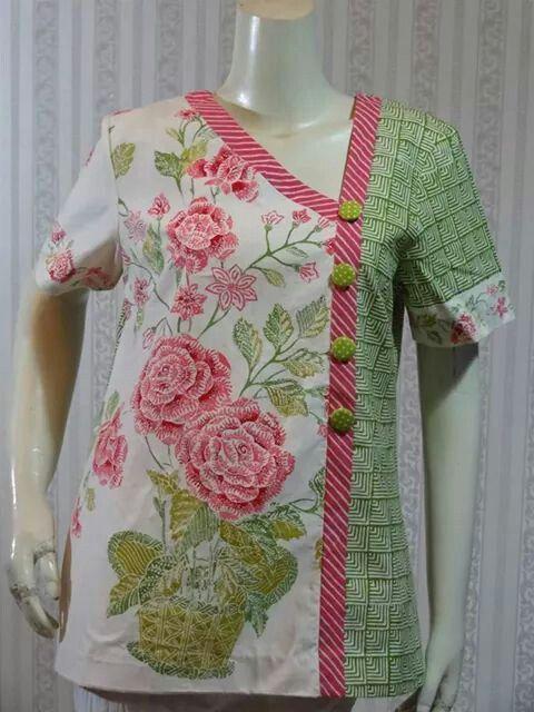 modern cheongsam dress #batik