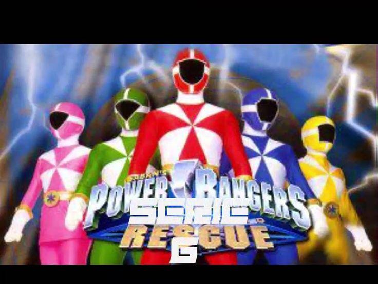 Générique des Power-Ranger de la série 1 a la série 12.
