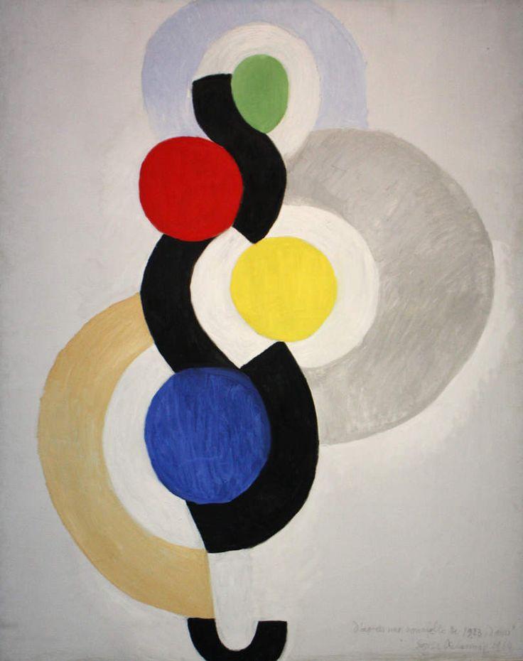 """Rythme sans fin, danse"", 1964 de Sonia Delaunay"