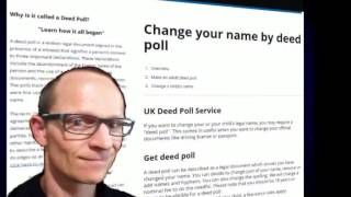 how to begin a legal name change