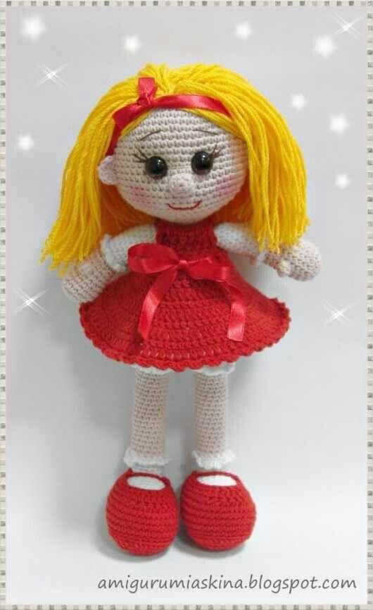1000+ images about Amigurumi on Pinterest Crochet dolls ...