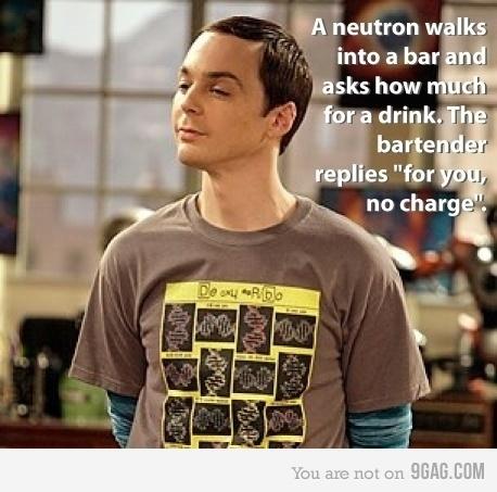 Bazinga!Nerd Jokes, Funny Pics, Geek Humor, Science Jokes, Big Bang Theory, Big Bangs Theory, Funny Stuff, Big Band Theory, Chemistry Jokes
