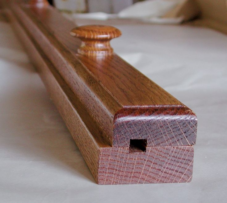 "Amish Quilt Rack Clamp - 42""- Solid Cherry (Choose Your Custom Stain Option)"