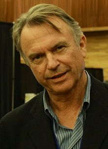 """Nigel John Dermot """"Sam"""" Neill, DCNZM, OBE (born 14 September 1947) is a British-born New Zealand actor He won a broad international audience in 1993 for his roles as Alisdair Stewart in The Piano and Dr. Alan Grant in Jurassic Park, a role he reprised in 2001's Jurassic Park III. Neill also had notable roles in Merlin, The Hunt for Red October, and The Tudors. He holds New Zealand, British and Irish nationality, but identifies primarily as a New Zealander"""