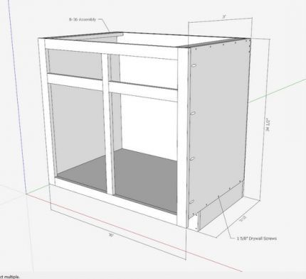 Kitchen Cabinets - The Engineer's Way - Fine Woodworking