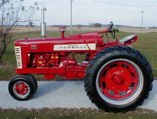 Pulling Tractor For Sale Craigslist >> Farmall 450 Diesel Except I want my wheel weights white and a polished stainless muffler ...