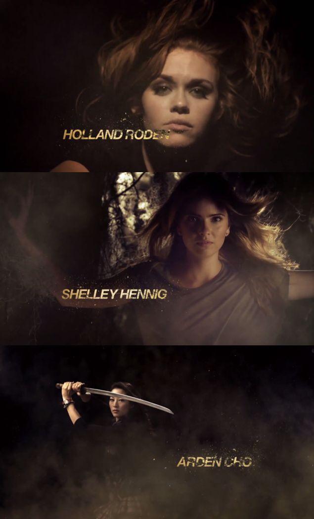 #TeenWolf Season 4 Opening Credits - Holland Roden, Shelley Hennig and Arden Cho