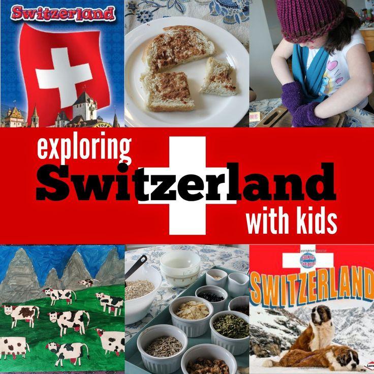 Marie's Pastiche: Exploring Switzerland with Kids   Food, Activities & Art