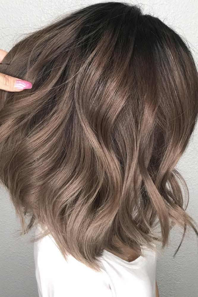 Ash Brown Hair Colors With Their Smoky And Cool Green Blue And Grey Undertones Let You Upgrade Your Br Ash Hair Color Ash Brown Hair Color Light Brown Hair