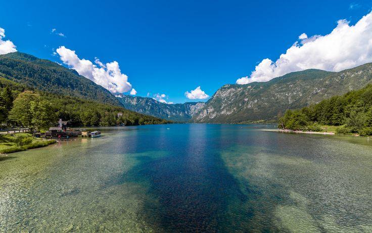 https://flic.kr/p/WMCqhp | Lake Bohinj panorama | Bohinj, Slovenia