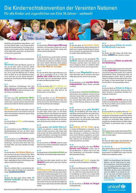 Die Kinderrechtskonvention der Vereinten Nationen