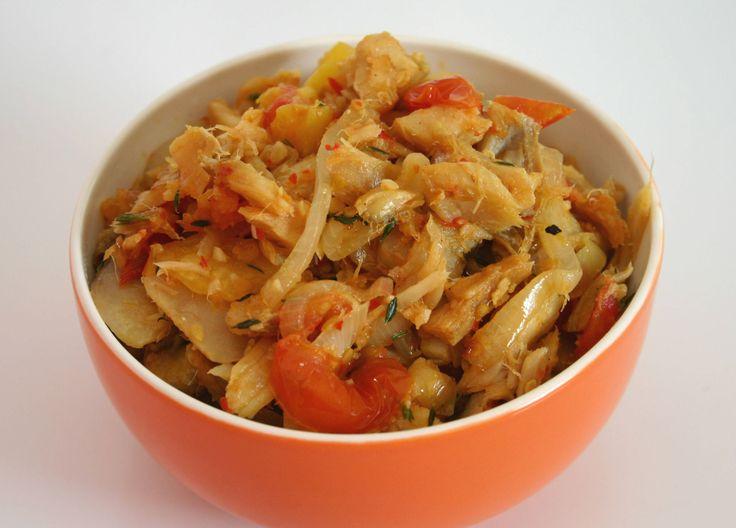 Fried Salt Fish Recipe - How to make Fried Salt Fish Recipe