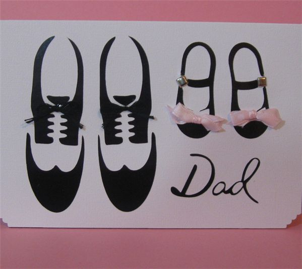 Project Center - Fathers Day Card-Daddy/Daughter | Paper ...