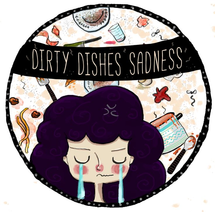 Everytime I had to wash my dishes :P