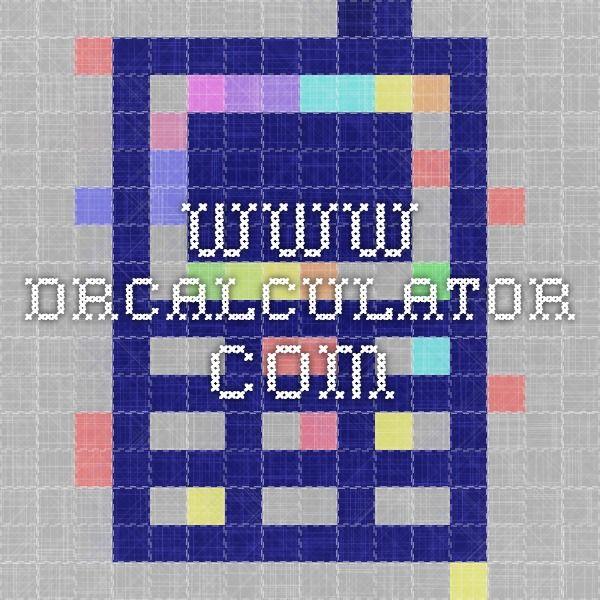 www.drcalculator.com