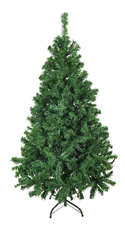 Luxury 5ft 6ft 7ft 8ft 9ft 10ft 12ft Green Artificial Christmas Trees  -Bushy High Tip Count Xmas Trees (5ft / 150cm) - Luxury 5ft 6ft 7ft 8ft 9ft 10ft 12ft Green Artificial Christmas
