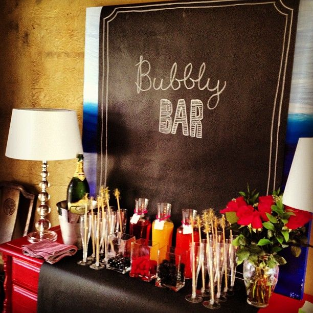Easy Bubbly Bar