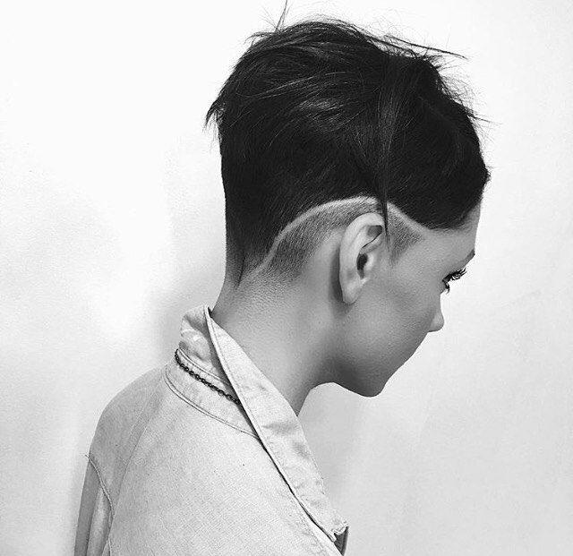 Stunning Modern Faded Undercut Pixie  Cut By @luiiisc_ Definitely Follow Him 👍🏻 Model @morgansayers 😍💙 #UCFeed #BuzzCutFeed #Undercut #Undercuts #SideCut #SideShave  #ShavedNape #NapeShave #PixieCut #Pixie #ShortHair #ShortHaircut #TaperFade #Faded #UndercutNation #ModernSalon  #ModernHair #ModernHaircut