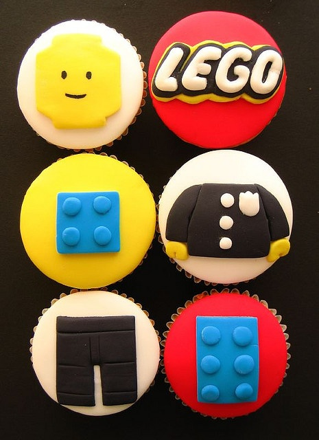 Collecting ideas for my sons lego themed party and these are very cool
