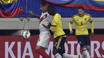 Peru vs. Colombia: juegan por la Copa America 2015.