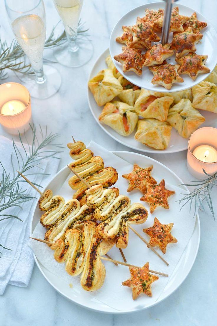 """Het lekkerste recept voor """"Pestokerstboompjes op een stokje"""" vind je bij njam! Ontdek nu meer dan duizenden smakelijke njam!-recepten voor alledaags kookplezier!"""