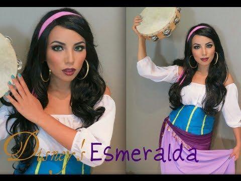 Make Up Guide Videos: Disney's Esmeralda Make-up Look !!!