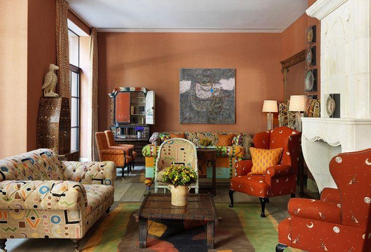 adelaparvu.com despre interioare in stil british colorat amenajate, Ham Yard Hotel, design interior Kit Kemp (55)