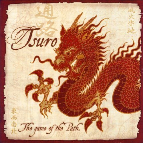 Calliope Games Tsuro: The Game of the Path | Buy online at The Nile 6.7/10