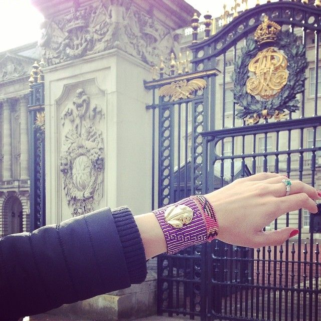 El Dorado making it's royal entrance… @FLOR AMAZONA #floramazona #buckinghampalace #london #uk #jewellery #jewelry #latinluxe #fa...